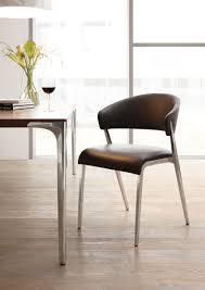Esszimmerst Le Schwarz Leder Hülsta Stühle Hüls Die Einrichtung