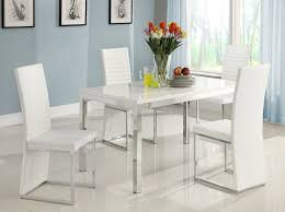 White Dining Room Set Sale by Amazon Com Homelegance Clarice Chrome Dining Table Table