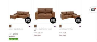 Sofa Beds Interest Free Credit by People Are Outraged At Littlewoods After Glitch Meant Sofas Were