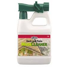 Moss Cleaner For Patios Deck And Patio Moss Cleaner 1 L Rona