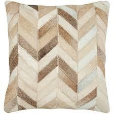 Metallic Cowhide Pillow Cowhide Sofa Pillows Aecagra Org