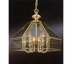 Vintage Glass Chandelier Beveled Glass Chandelier Foter