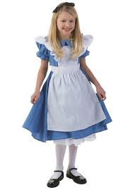girls deluxe alice costume child alice in wonderland dresses