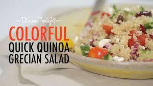 quinoa salad for thanksgiving colorful quick quinoa grecian salad recipe myrecipes