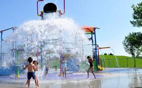 splash pad water park water