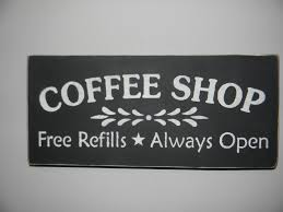 kitchen sign coffee shop coffee decor kitchen decor home