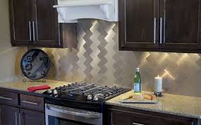 The Best Backsplash Materials For Kitchen Or Bathroom - Metal kitchen backsplash