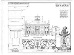 plantation home blueprints pictures historic home plans the architectural digest