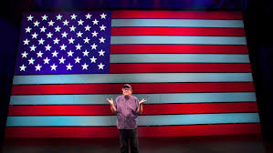 American Flag Meaning On Broadway Michael Moore U0027s U0027the Terms Of My Surrender U0027 Is A Well