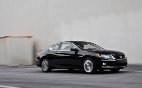 2 door black honda accord 2013 honda accord ex coupe test motor trend