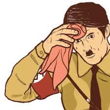 Sweating Guy Meme - adolf hitler sweating towel guy know your meme