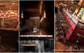 Basement Bar Top Ideas Bar Amazing Bar Front Ideas 15 Rustic Kitchen Design Photos