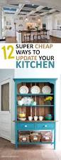 Teal Kitchen Decor by Best 25 Cheap Kitchen Ideas On Pinterest Cheap Kitchen