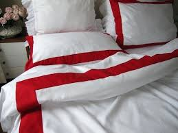 Gingham Duvet Covers Red And White Striped Bedding Sets Red And White Duvet Cover Ikea