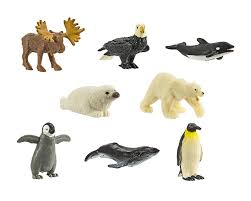 amazon com safari ltd good luck minis arctic fun pack 8