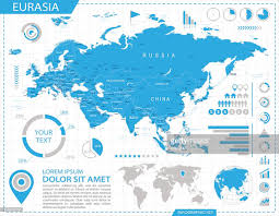 Eurasia Map Eurasia Infographic Map Illustration Vector Art Getty Images