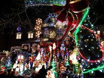 dyker heights christmas lights tour 2017 house with christmas lights at night dyker heights new york