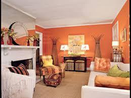 orange livingroom tangerine orange living room southern living