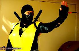 Scorpion Costume Mortal Kombat Characters Scorpion Costume Photo 2 5