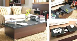 folding table with storage folding tables for living room coffee table with storage bitmesra club
