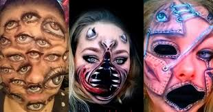 makeup artist this montreal makeup artist will transform you into a terrifying