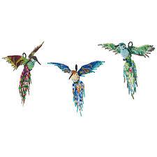beaded hummingbird handmade in guatemala shiny beaded bird