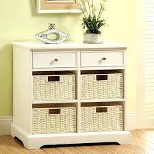 medicine cabinet with wicker baskets basket storage cabinet white wooden inch 2 under wicker wire baskets