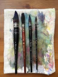Oval Office Paintings by Doodlewash Doodlewash Review Watercolor Brushes