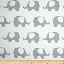Blackout Drapery Fabric Rca Elephant Blackout Drapery Fabric Grey Discount Designer