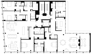 typical hotel floor plan 42 crosby street selldorf architects new york