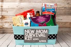 pregnancy gift basket survival kit
