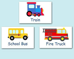Transportation Nursery Decor Transportation Décor Transportation Nursery Wall