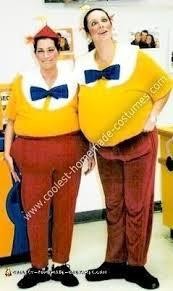 Tweedle Dee And Tweedle Dum Costumes Coolest Homemade Tweedle Dee And Tweedle Dum Costumes Work