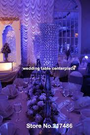 Wedding Centerpieces With Crystals by Online Get Cheap Chandelier Candelabra Centerpiece Aliexpress Com