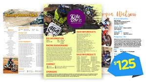 Motocross Sponsor Resume Our Services U2013 Mx Zen Academy