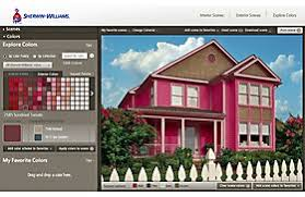 house exterior paint simulator home design