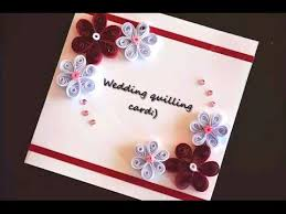 how to make a greeting quilling card diy paper crafts for