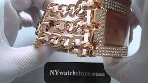 chain link bracelet watches images Women 39 s rose gold guess glitz chain link bracelet watch u0085l3 jpg
