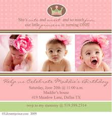 baby 1st birthday invitations u2013 gangcraft net