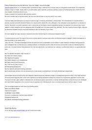 Linkedin Cv Creator It Resume Builder Resume For Your Job Application