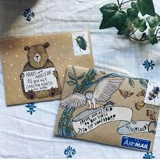 Decorated Envelopes 492 Best Decorated Envelopes Images On Pinterest Envelope Art