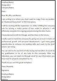job resignation letter resignation letter content intimation