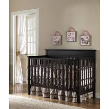 Espresso Baby Crib by Paint Color Match It Graco Lauren 4 In 1 Convertible Classic