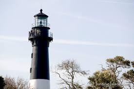 Lighthouse Light Hunting Island State Park Lighthouse Light House