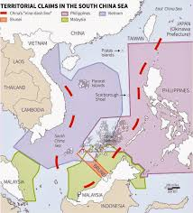 China Sea Map by Stephen Hoadley South China Sea Tensions The Us Dilemma