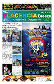 placencia breeze august 2017 by the placencia chapter of the btia