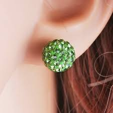 sparkly green earrings cheap sparkly green earrings find sparkly green earrings deals on