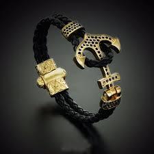 anchor bracelet women images Fashion new atolyestone emperor anchor bracelet gold bracelets jpg