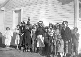 file children in halloween costumes little smoky river farm
