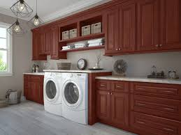 Premade Laundry Room Cabinets by Sonoma Merlot Pre Assembled Kitchen Cabinets The Rta Store